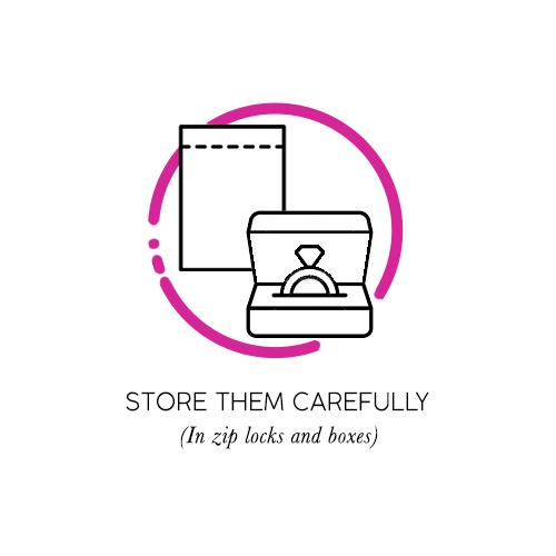 store carefully