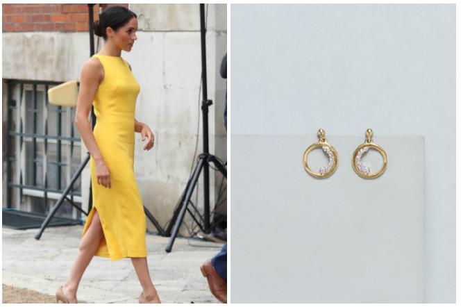 meghan_yellow dress
